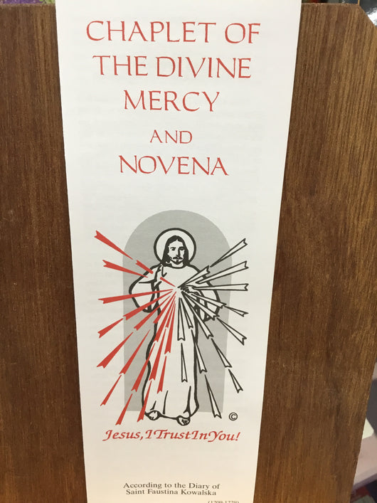 Chaplet of the Divine Mercy and Novena (according to the Diary of St. Faustina Kowalska)