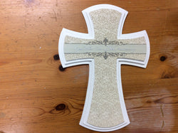 25th Anniversary God Bless Wall Cross