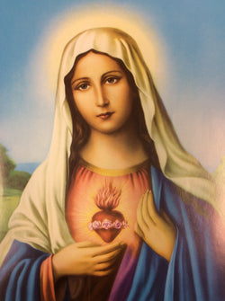 Immaculate Heart of Mary - print