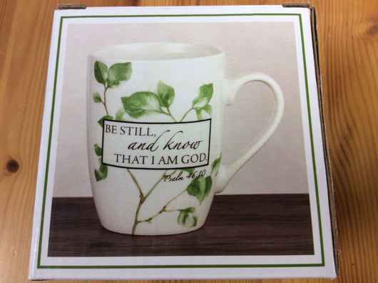 Mug - Be Still and know that I am God.....