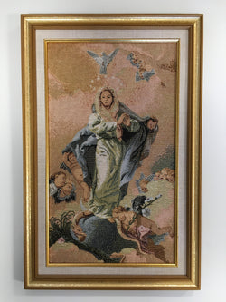 Our Lady, Heavenly Queen - framed tapestry
