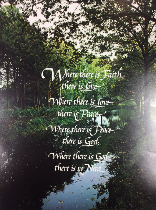 Where there is Faith - poster