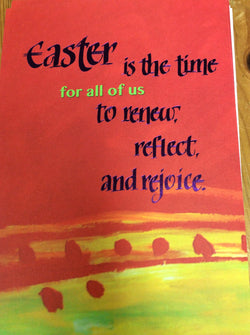 Easter is the time for all of us ....