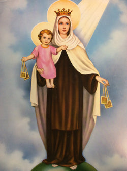 Our Lady of Mount Carmel - print