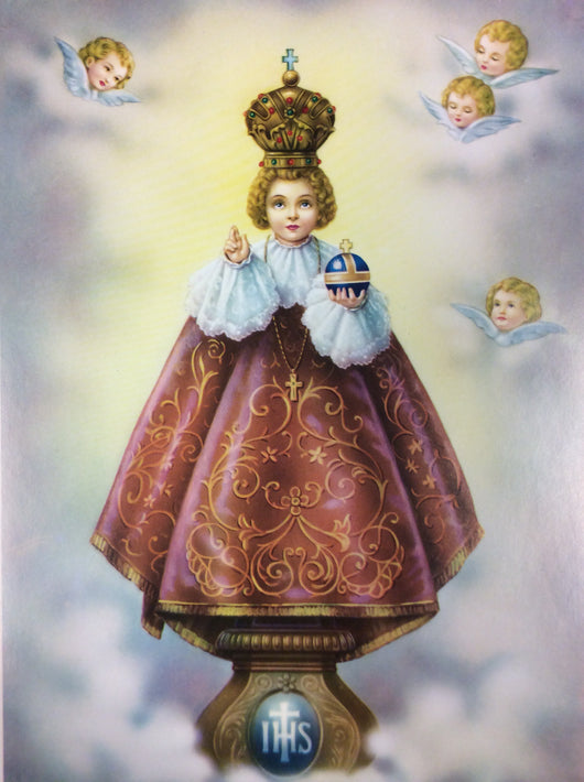 Infant Jesus of Prague - print