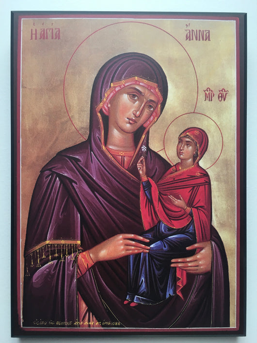 St. Anne and the Virgin Icon