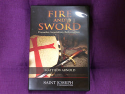 Fire and the Sword CD set  with Matthew Arnold