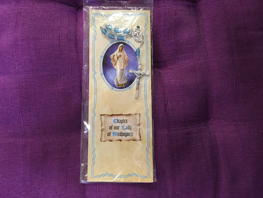 Chaplet of our Lady of Medjugorje
