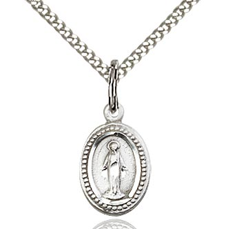 BLISS - Miraculous Sterling Silver Medal and Chain