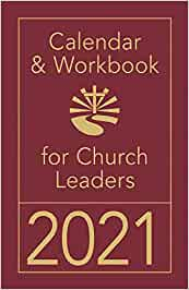 Calendar & Workbook for Church Leaders - 2021
