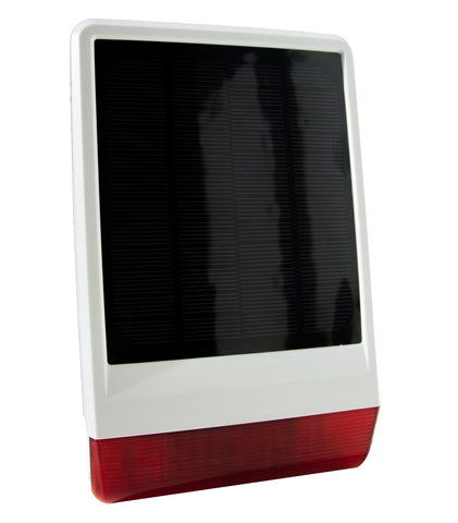 Solar Outdoor Siren (005107)