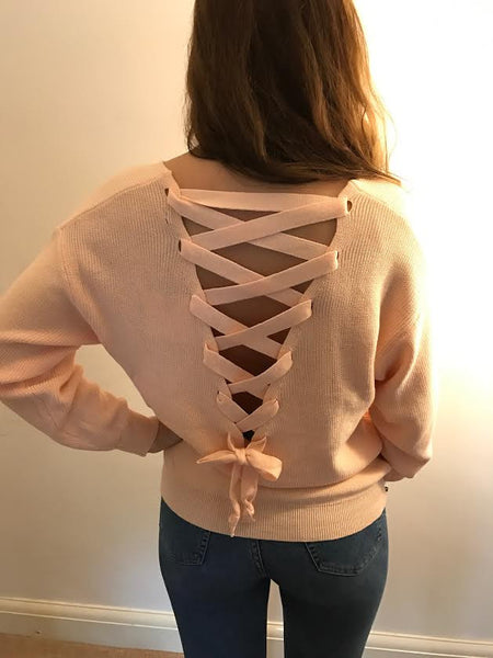 Plaited Back Knitwear