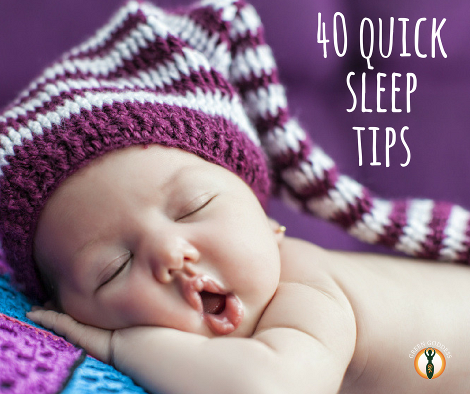 40 quick sleep tips