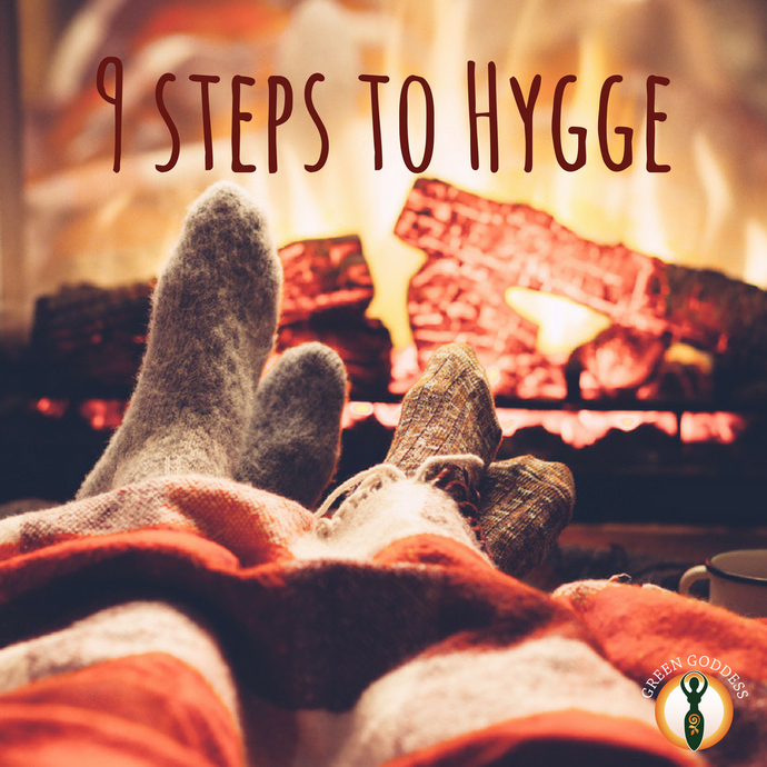 9 step guide to Hygge – the art of happiness.