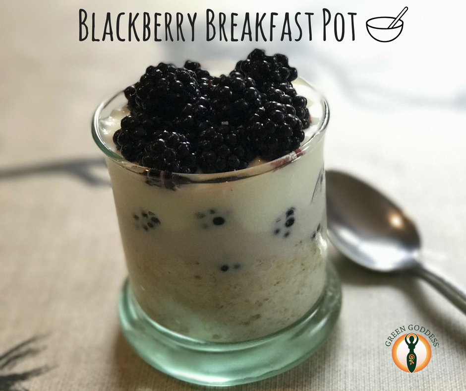 Blackberry Breakfast Pot