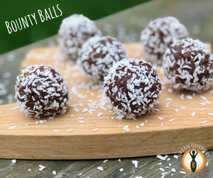 Raw cacao bounty balls