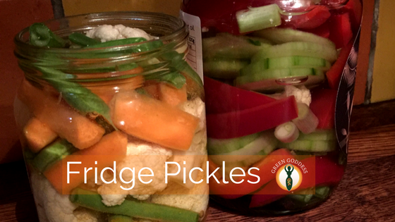 Fridge Pickles A Quick & Healthy Snack