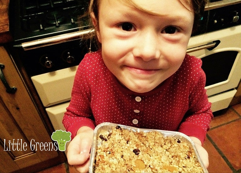 Lunch Box Banana FlapJacks
