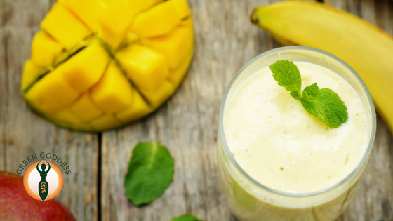 Banana & Mango Smoothie Boost
