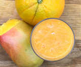 Get the glow - Orange & Carrot Smoothie