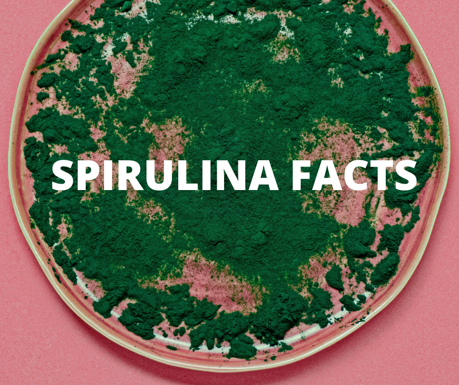 Green Goddess Organic Spirulina Facts