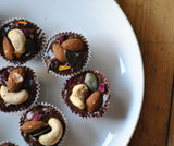 Raw Fruit & Nut Chocolate Cups