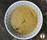 Lentil, green bean & courgette soup