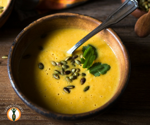 Vegan Spicy Squash Soup