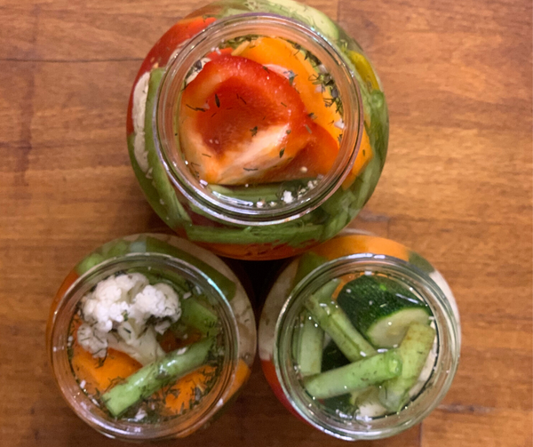 Green Goddess Easy fermented vegetables