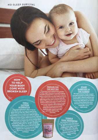Mum On The Run featured in Mother & Baby Magazine