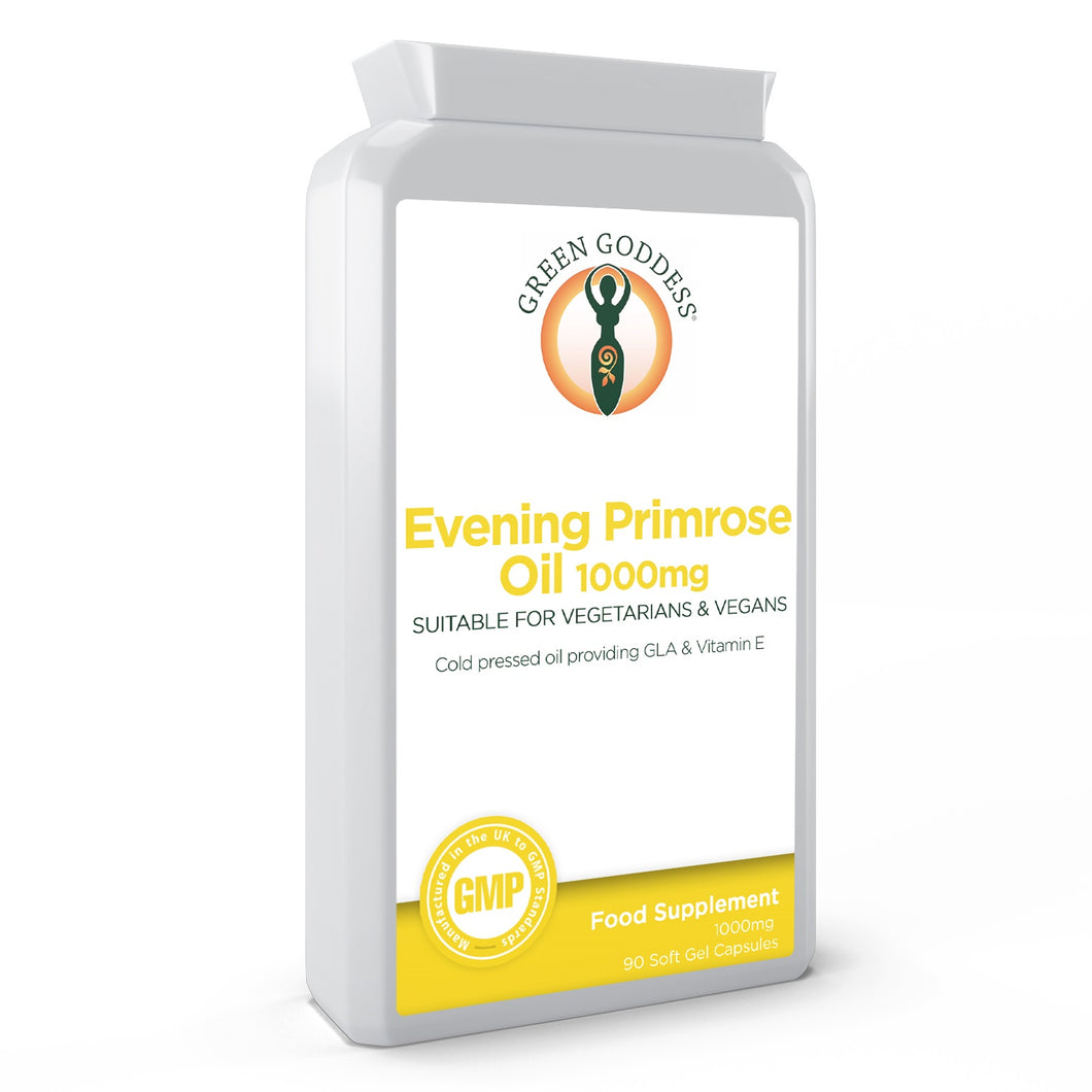 Evening Primrose Oil 1000mg 90 Vegan Capsules
