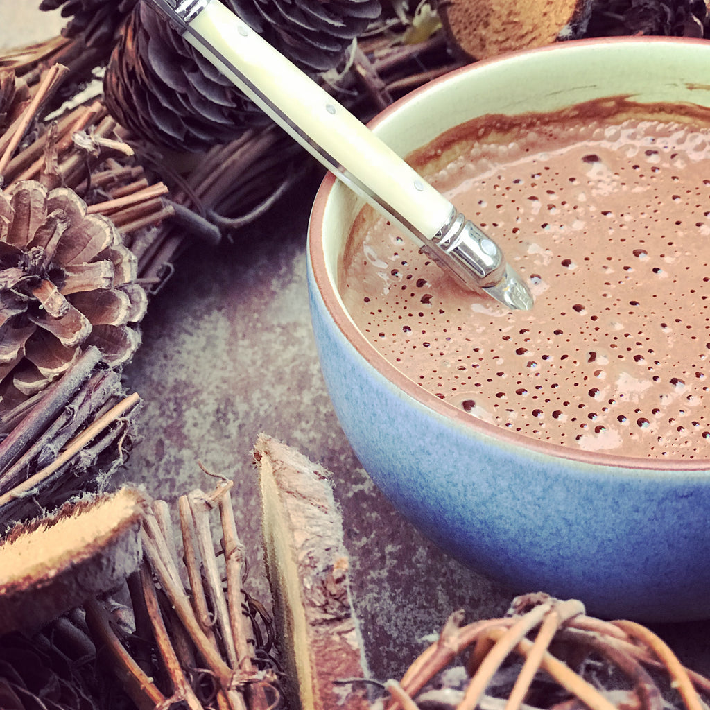 Organic Vegan Hot Chocolate Powder - Green Goddess