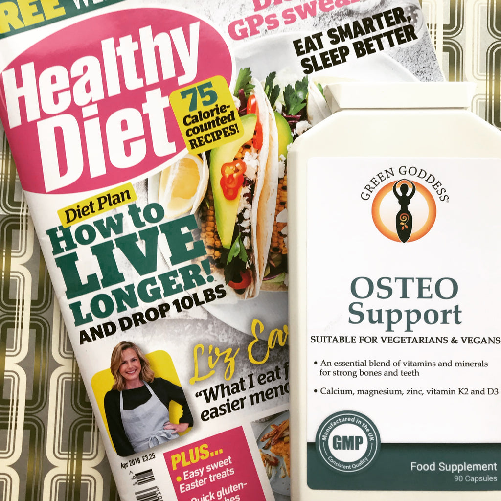 Osteo Support natural supplement for healthy bones - Green Goddess