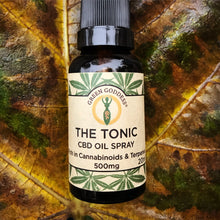 The Tonic CBD Liquid Spray 500mg