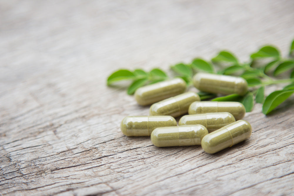 Moringa leaf 500mg 120 capsules - Green Goddess