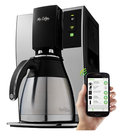 Wifi enabled coffeemaker
