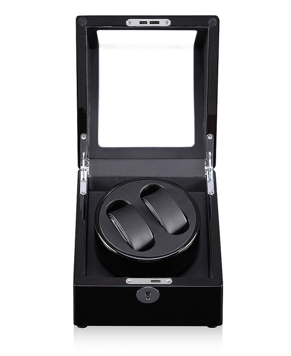 COMING SOON !!  Dual Watch Winder (No' 105) Black Gloss Black Interior
