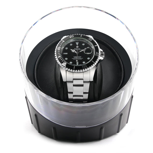 Modest Black Single Watch Winder