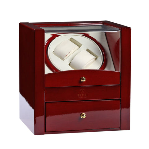 Luxurious High Gloss Finish, 4 TPD Programs, Two Watch Stands, Includes Storage, (No' 018)