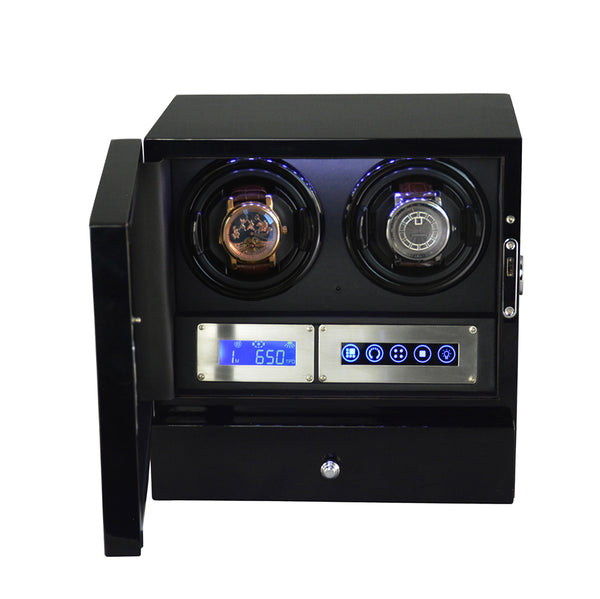 Touch Screen LCD Dual Watch Winder (D20BB)