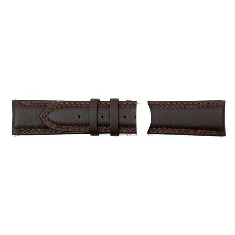 Dark Brown 18mm Luxury Calf Leather (KA-S42868)