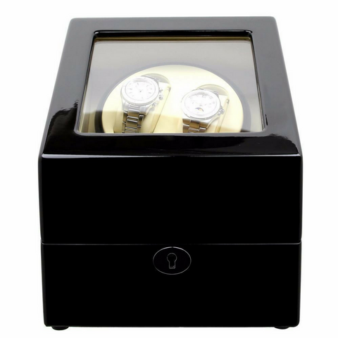 DUAL CLASSIC WATCH WINDER NO' S24 - BLACK
