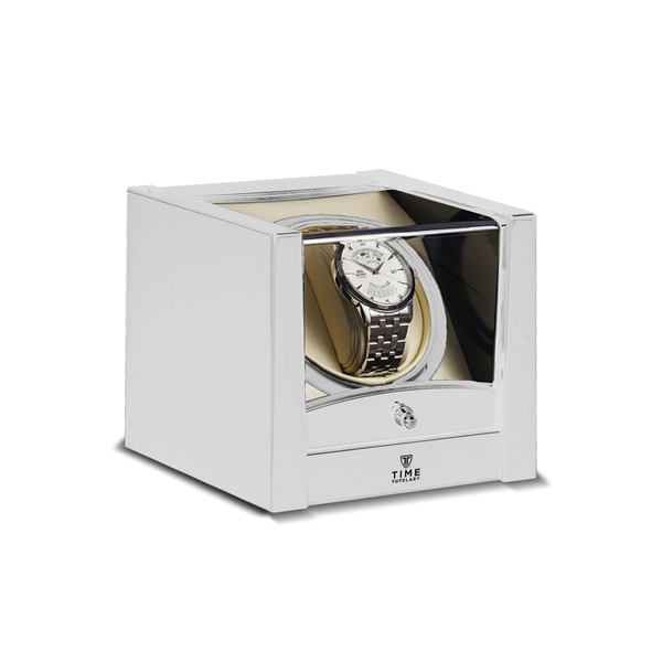 White Single Watch Winder