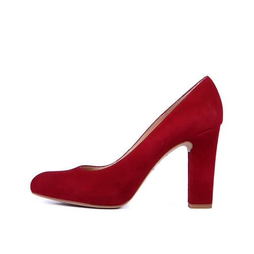 Unisa Pump Patric - Rouge Suede
