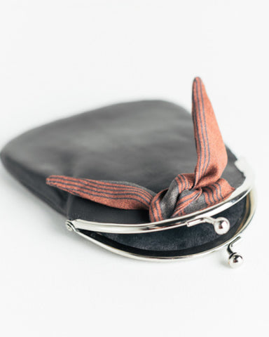Dark Grey Icon Coin Purse