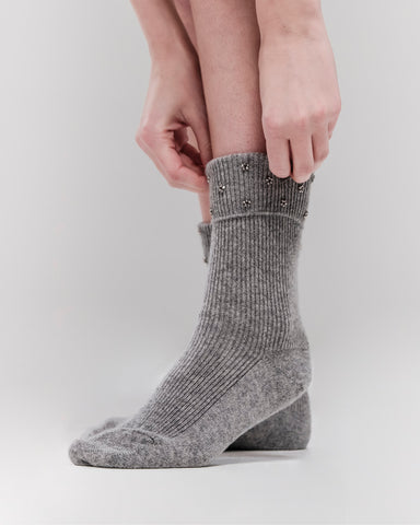 Ankle Socks, Light Grey