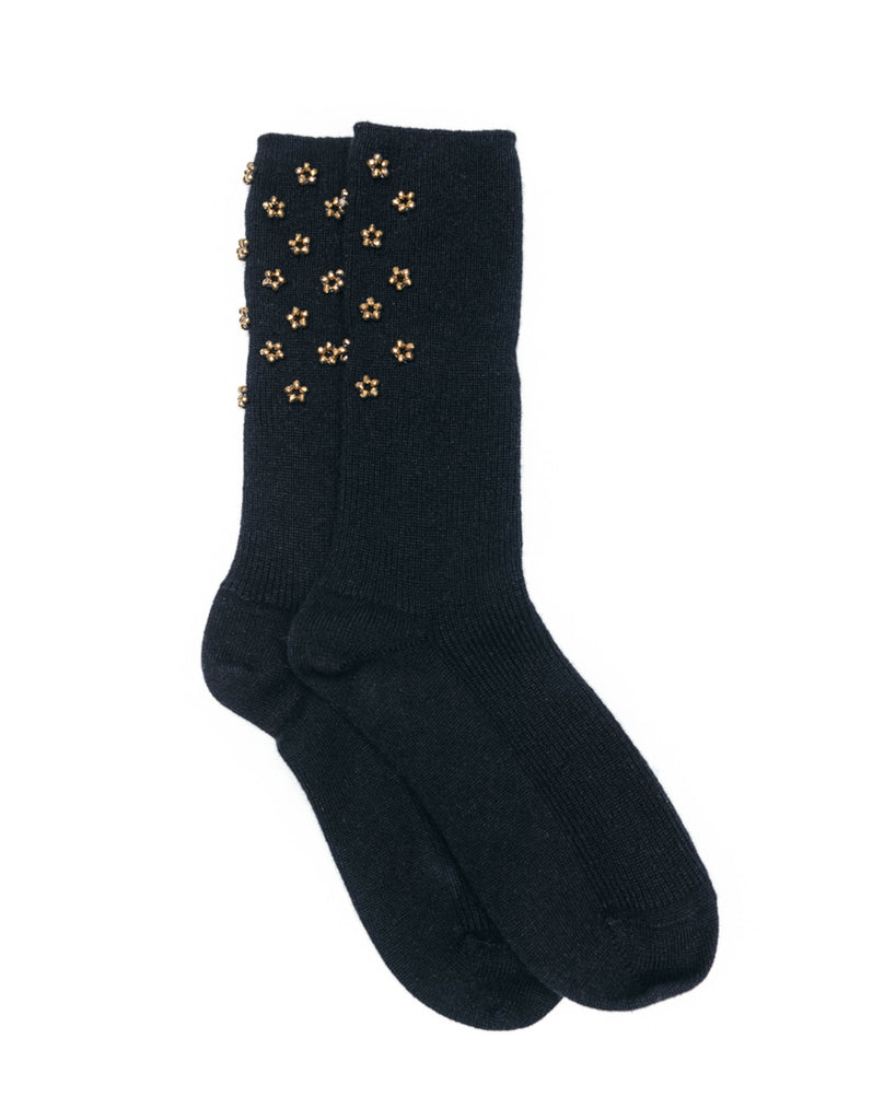 Cashmere Socks, Black