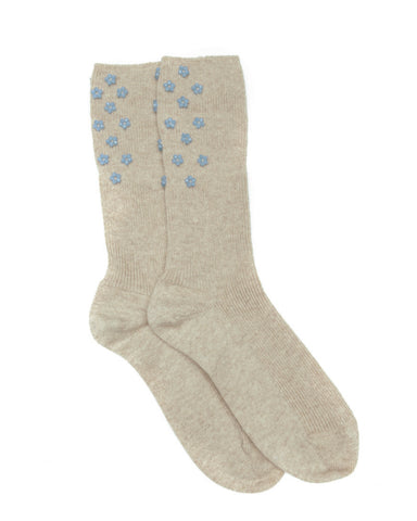 Cashmere Socks, Natural