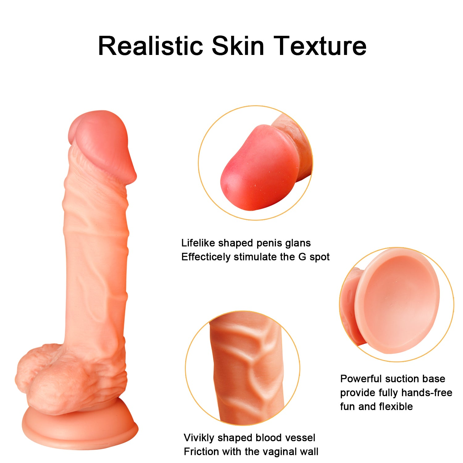 MD Assassin Realistic Dildo with Suction Cup