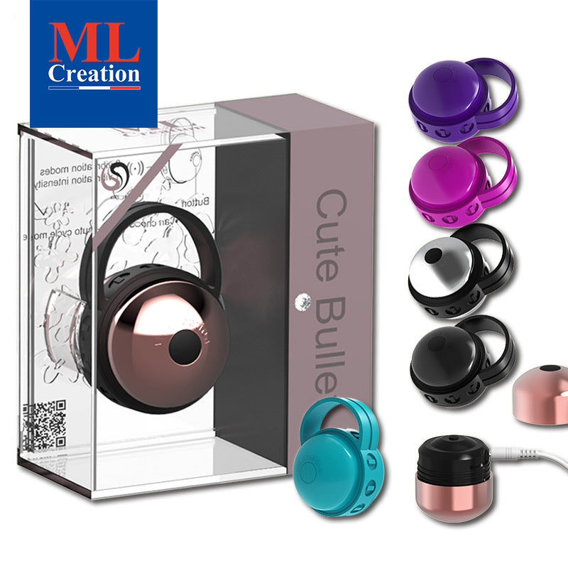 ML Creation Cute Bullet Ring Vibrator USB Rechargeable